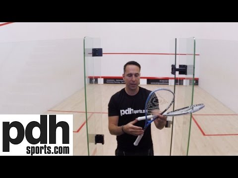 Dunlop Force Evolution 120 & 130 Squash Racket review and tips by pdhsports.com