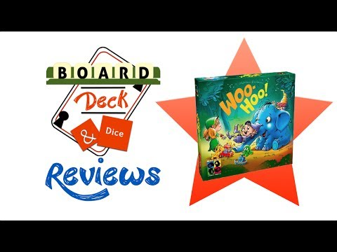 Board, Deck and Dice Review #92 - Woo-Hoo!