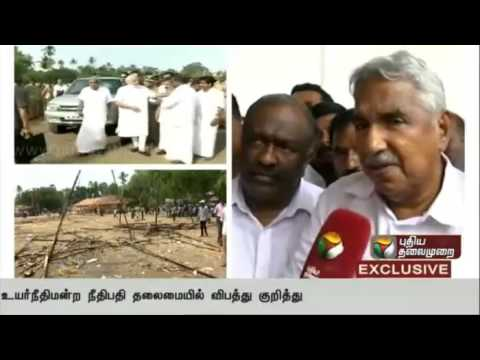 Kerala-temple-fire-Exclusive-interview-with-Kerala-CM-Oommen-Chandy