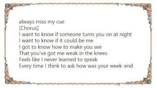 Eva Avila - Weak in the Knees Lyrics