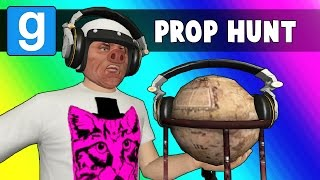 Gmod Prop Hunt Funny Moments - DJ Toilet! (Garry's Mod)