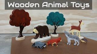 Handmade Wooden Animal Toys