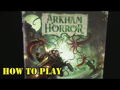 Arkham Horror (3rd Edition) Tutorial