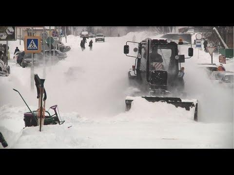 На смену морозам в Караидельский район вернулись снегопады