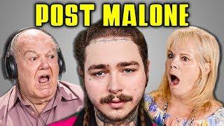 ELDERS REACT TO POST MALONE (Psycho, Rockstar, White Iverson) - Video Youtube