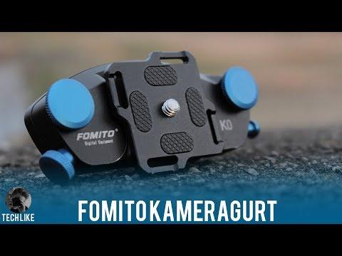 Fomito Kameragurt Günstiger Kamerahalterung für den Rucksack / Review