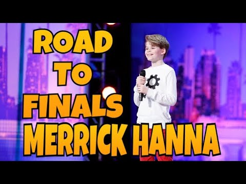Merrick Hanna - Road to Finale | All Performances | America's Got Talent 2017 | Talent Worldwide (видео)