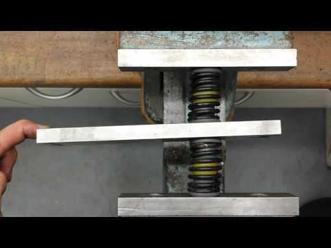 Vergleich zwischen Federn, MBS Egg Shocks (Dampas) und Elastomerfedern für Mountainboard Achsen