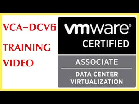 vmware vsphere vca-dcv 6 training (data center certified ... - YouTube
