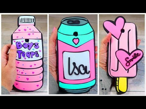 PHONE CASES DIY - EASY CRAFTS FOR CHILDS