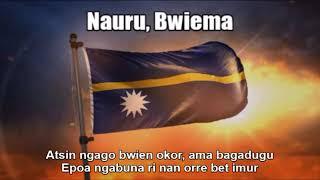 National Anthem of Nauru (Nauru, Bwiema) - Nightcore Style With Lyrics