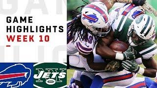 Bills vs. Jets Week 10 Highlights | NFL 2018