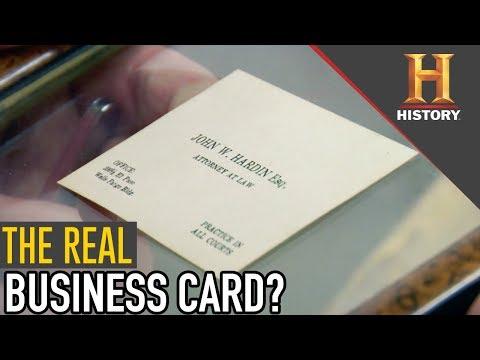 John Hardin Business Card   Pawn Stars