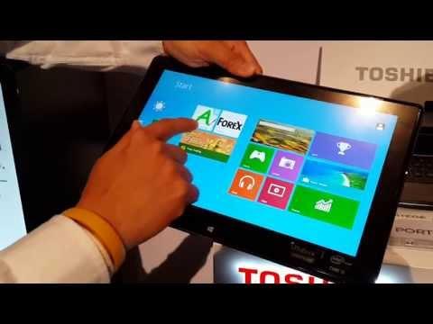 พรีวิวพาชม: งานเปิดตัว Toshiba Portege Z10t แนะนำการใช้งาน