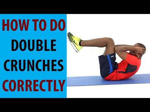 How to Do Double Crunches Correctly | Exercise Of The Day #27