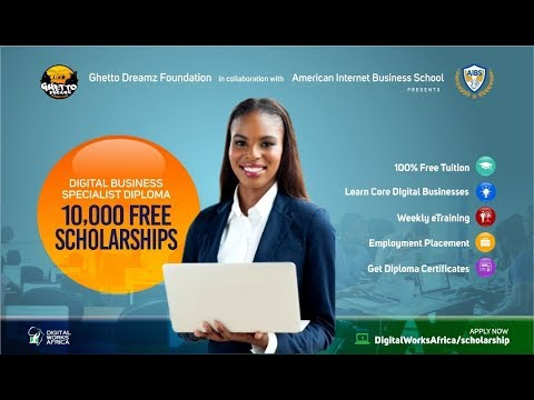 , title : 'Get Digital Business Specialist' Scholarship To American Internet Business School