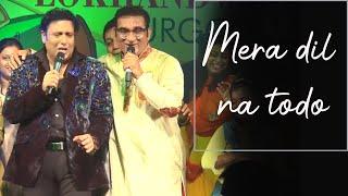 Aa Aa Eee Oo Oo Oooo | Raja Babu | Govinda Dance | Abhijeet Live