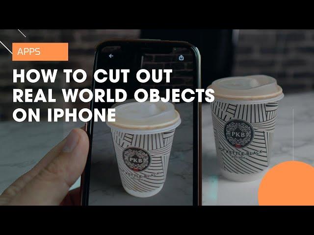 Приложение ClipDrop мгновенно перенесет любые предметы из реального мира в виртуальный