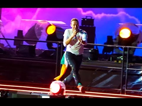 Coldplay - Hymn for the Weekend - Live - Croke Park - Dublin - July 8th 2017