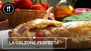 CALZONE: Cómo preparar una deliciosa PIZZA INVERTIDA