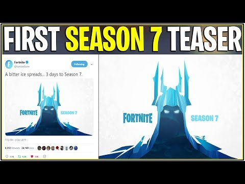New First Season 7 Teaser Skiing Coming Soon Fortnite