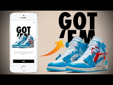 """How To Cop Using Nike """"SNKRS APP"""" Successfully! How It Works & Tips For Copping!"""