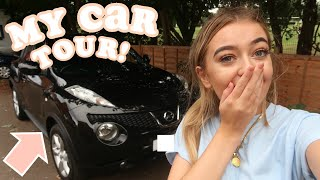 MY CAR TOUR 2018! PICKING UP MY VERY FIRST CAR!