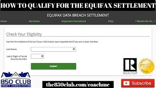 The Steps To Qualify For The Equifax $125/$20,000 Settlement - MSNBC Verified, Monitoring, 2019