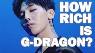 How Rich Is G-Dragon?