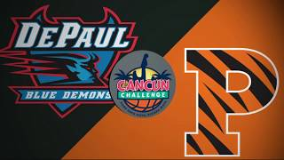 2018 Cancun Challenge | DePaul vs Princeton