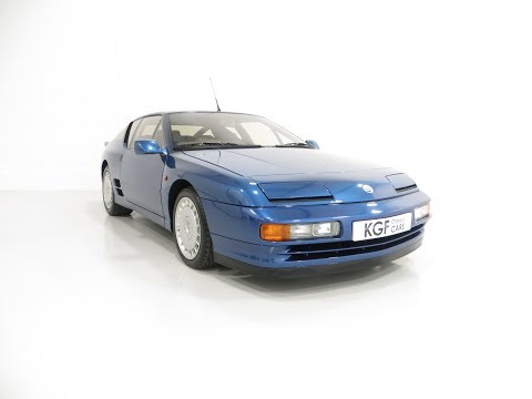An Immaculate 1/67 RHD Renault Alpine A610 Turbos With Only 2,518 Miles - SOLD!