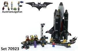 Lego Batman Movie 70923 The Bat Space Shuttle - Lego Speed Build Review