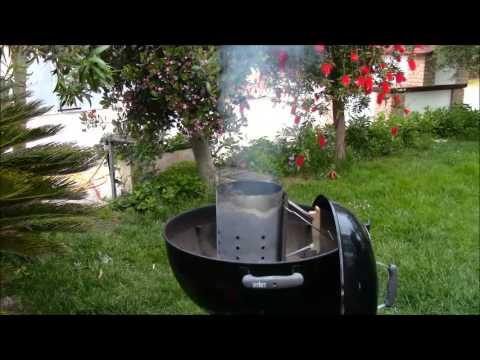 CIMINIERA D'ACCENSIONE WEBER - Recensione e istruzioni per l'uso BarbecueMania