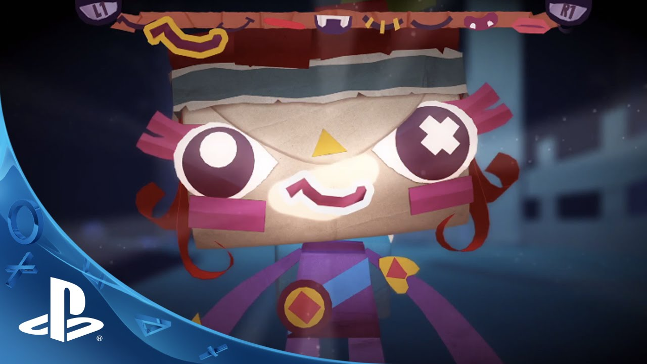 Tearaway Unfolded Out Today on PS4