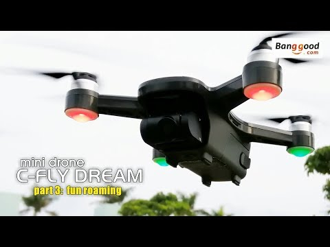 C-FLY DREAM mini drone. Part 3: fun roaming