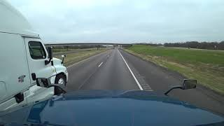 preview picture of video 'January 13, 2019/34 Terrell to Canton Texas'