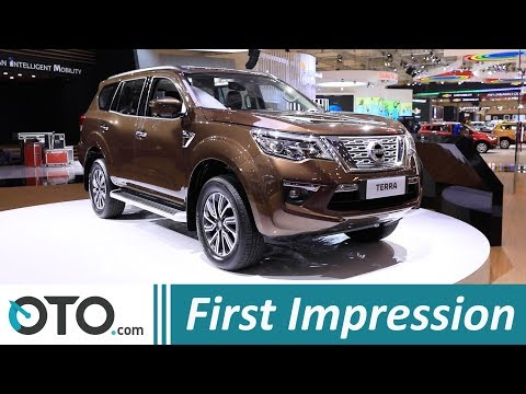 Nissan Terra | First Impression | GIIAS 2018 | OTO.com
