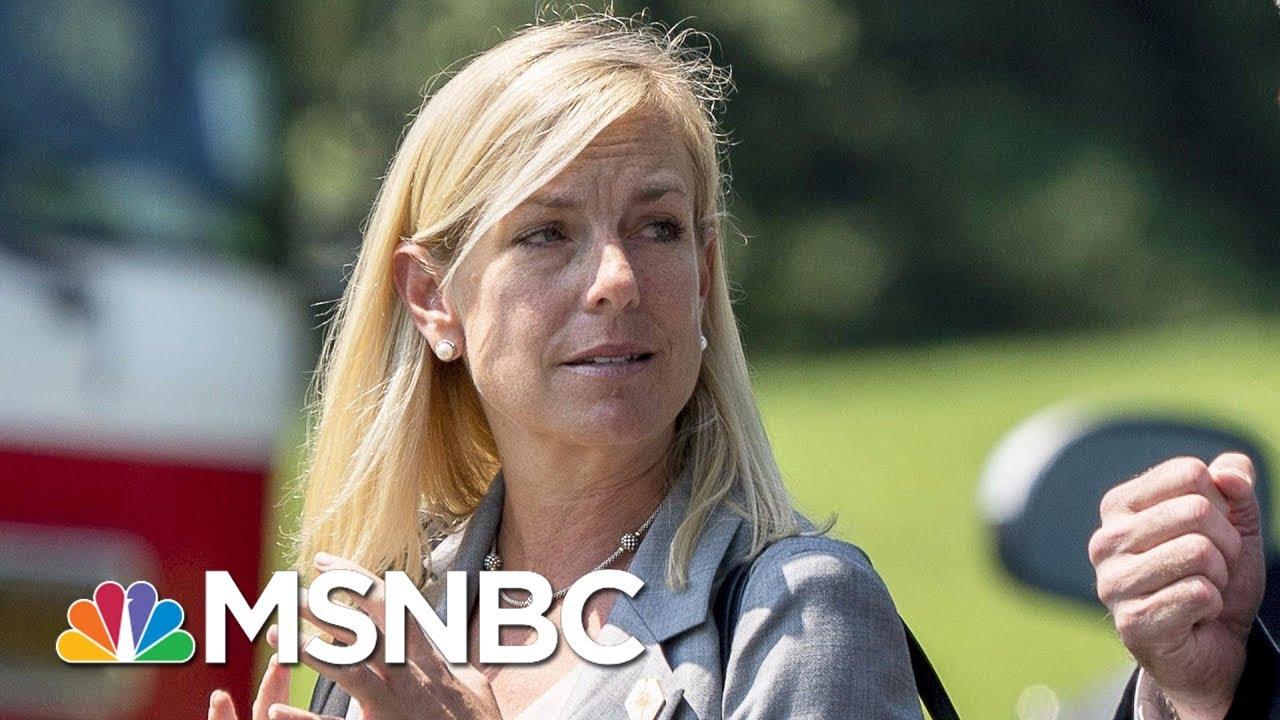 White House Nominates Kristjen Nielsen As Homeland Security Chief | MSNBC thumbnail