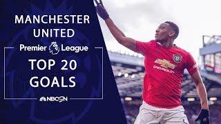 Top 20 goals from Manchester United through Matchweek 29 | Premier League | NBC Sports