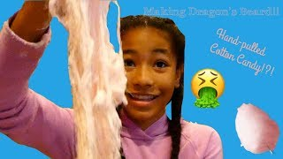 Making Dragon's Beard!!!
