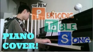 The Periodic Table SONG (Can Can) PIANO COVER