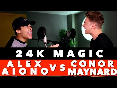 Bruno Mars - 24K Magic (SING OFF Vs. Alex Aiono) 1 Hour Loop! Mp3