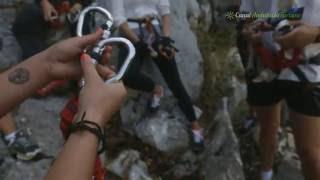 preview picture of video 'Via Ferrata, Pangea turismo activo, Benaoján, Málaga'