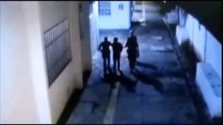 Criminoso é detido após ser flagrado por câmeras da Prefeitura