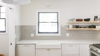 How-To Tile A Kitchen Backsplash (Or Any Wall, Really!)