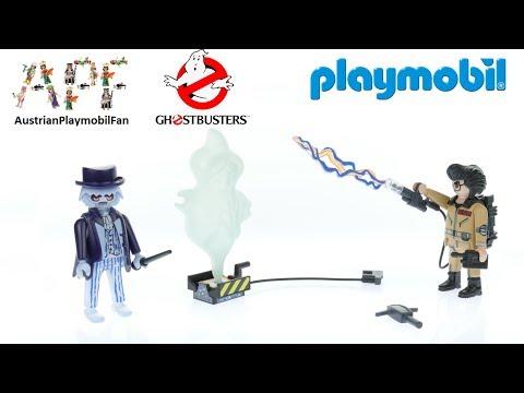 Vidéo PLAYMOBIL Ghostbusters 9224 : Spengler et fantôme