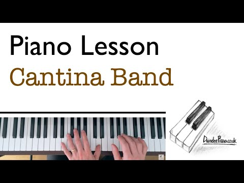 Cantina Band Theme from Star Wars - Piano Lesson