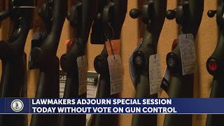 Virginia lawmakers adjourn special session without vote on gun control