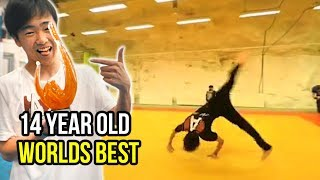 14 Year Old Does HARDEST FLIPS In the World!