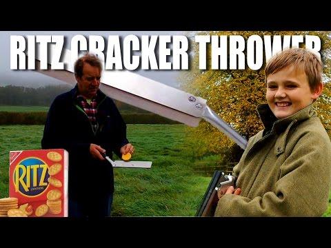 Ritz Cracker Thrower